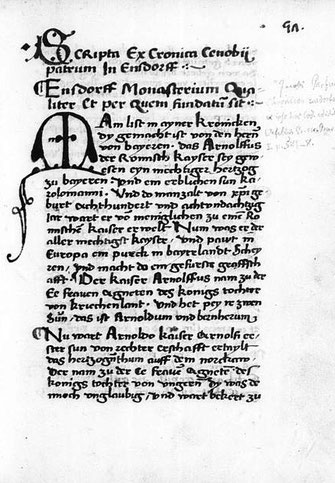 BSB M: Parfueß-Chronik, Clm 351, fol. 57r.