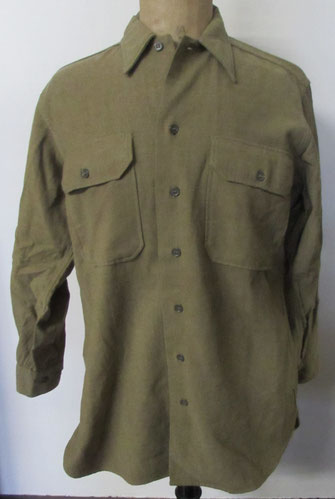 chemise moutarde US  M37