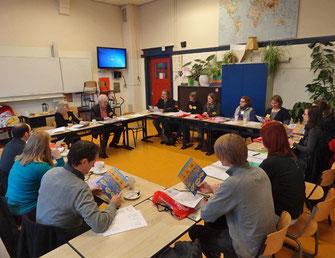 Jaap Bakkelo stellte das Zernike-College vor. Fotos: Ulrichs