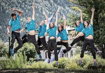 Photo prise lors de la coupe du monde de Chamonix