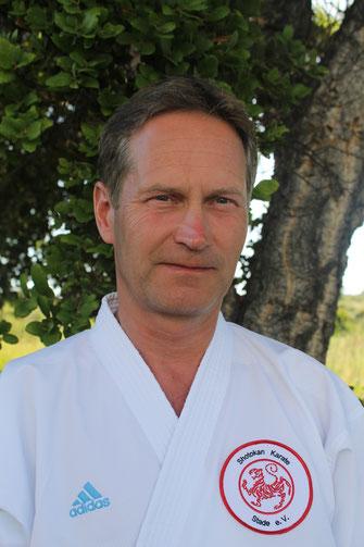 Portrait von Carsten Zeifang, Karatetrainer beim Shotokan Karate Stade e. V.