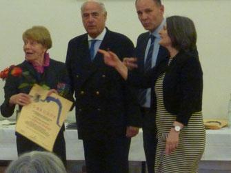 Bild v.L. Elfriede Hodapp, Gundolf Fleischer, Bernd Häusler, Bärbel Schäfer