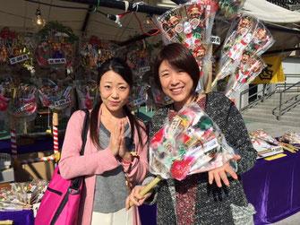 坂東流日本舞踊の姐さんと。