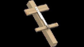 Innotech SDA-35 Einzelanschlagpunkt für Steildächer