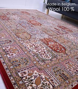 世界最高級の機械織り絨毯ブリリアント
