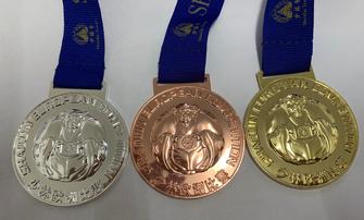 medaglie sportive e per premiazioni con nastro