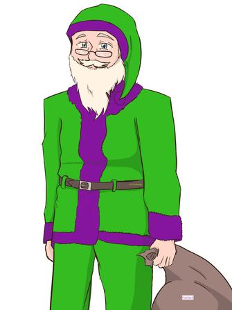 Der Fizzradio Weihnachtsmann