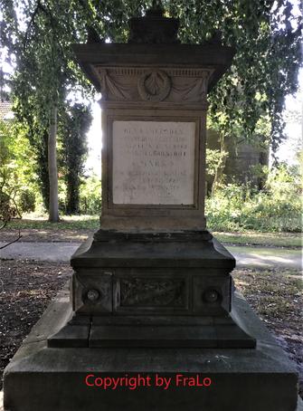 Garnisonfriedhof Friedhof Gökerstraße Wilhelmshaven Mars Grabdenkmal Denkmal