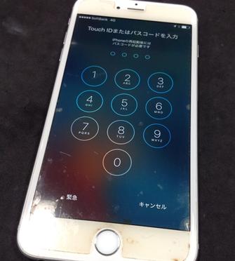 iPhone6の海水没 サビ