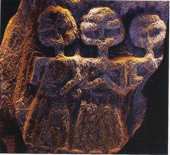 Heilige Steine - ein Großteil der keltischen Kunst war religiöser Natur