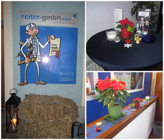 Weihnachtsfeier, Reiter GmbH
