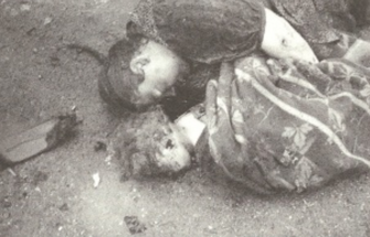 15.svibnja 1945 Klagenfurt ubijena majka sa djetetom u naručju krišom uslikana od nepoznatog austrijanca