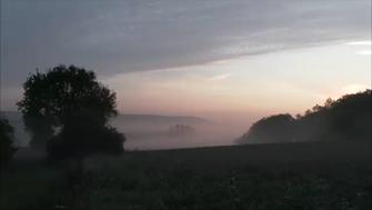 Der Wald steht schwarz und schweiget und aus den Wiesen steiget der weiße Nebel wunderbar. ...  (Foto © W. Kornder )