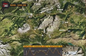 """60 km Strecke """"Hero Dolomiti"""""""