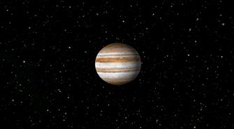 Der Jupiter | Grafik: Celestia