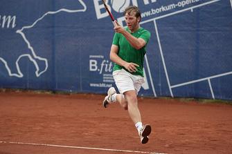 Oliver Ginthör vom Kölner HTC SW in Aktion