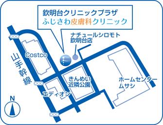 コストコ京都八幡、ホームセンタームサシの近く、ナチュールシロモト欽明台店とみのやま病院の間です。