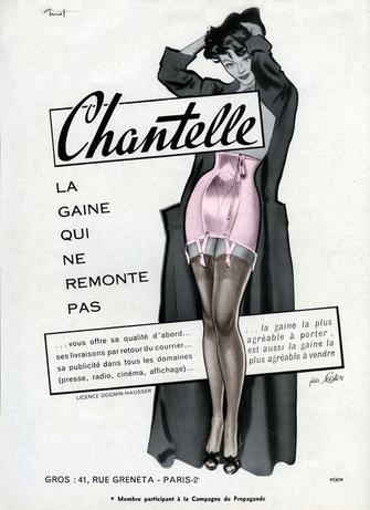 corset gaine underbust overbust serre-taille guêpière Chantelle