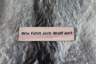 Fotó: Rainer Hauenschild: Wolfsfell