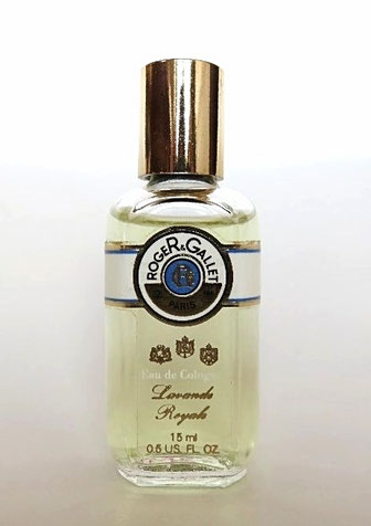 ROGER & GALLET - EAU DE COLOGNE LAVANDE ROYALE : 15 ML