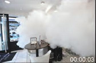 générateur de brouillard bandit déclenchement 1 seconde après