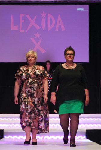 Susanne und Anja präsentieren Lexida X auf der Fashion & Dance 2015