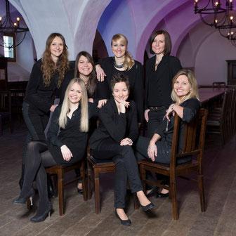 Julia Reichert, Katharina Meier, Eva Sterl, Andrea Schober, Christine Raith, Petra Kneidinger, Anita Resch