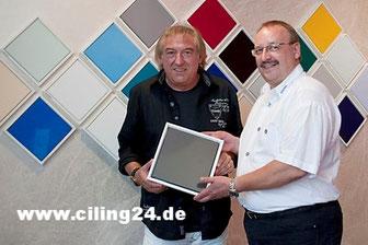 Bernd Ulrich von den AMIGOS mit Bernhard Müller CILING