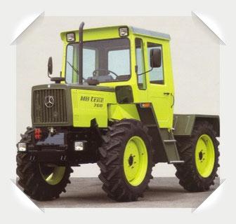 MB trac 700 Traktor Mercedes Benz