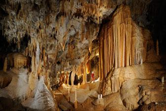 Grotte de l'Aguzou - Pyrénées Audoises - ©Philippe Crochet