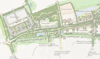 Howes Lane post re-design, Bicester Oxfordshire.  NWBicester, EcoBicester