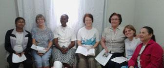 com a comunidade de Cariacica - es brasil