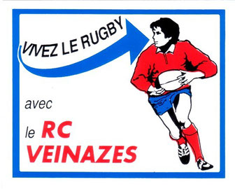 Autocollant publicitaire du Rugby Club du Veinazès - Coll. Musée du Veinazès