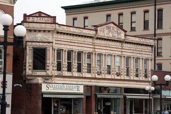 Sullivan Taylor Coffee House, Courthouse Square, Macomb IL
