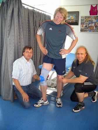 Sven Kruse MediVital Hemer Iserlohn GSV Vitus CrossGym Sport Reha Physiotherapie Lasse Kopitz Iserlohn Roosters IEC