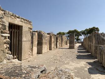 Griechenland, Kreta, Sehenswürdigkeit, Reisebericht, highlight, Urlaub, Matala, Phaistos, Ausgrabung, antike Stätte, Stadt