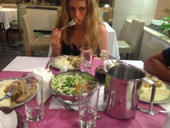 Le repas etait....pas bon !!!
