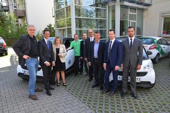 """Kiwanis Stuttgart übergibt zwei """"Smarts"""" an das Hospiz Stuttgart"""