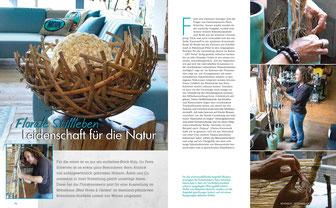 Artikel im Magazin mit Fotografien der Werkstücke