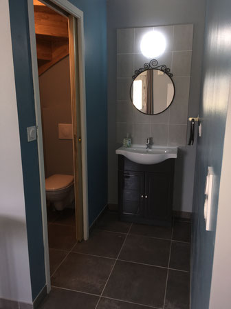 WC et lave main RDC