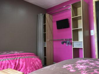 Gite Monte Cristo chambre rose
