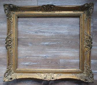 Musealer Rahmen-barock rahmen-stil alt antik-mit Verzierungen-goldfarben