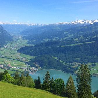 Bild Aussicht auf Walensee www.claudiazeissig.ch