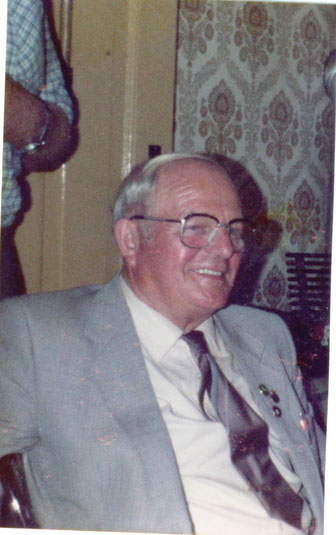 Fritz Kühne 1. Vors. von 1958 - 1979 danach Ehrenvorsitzender