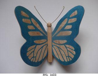 Papillon PPD_1603 - Ailes marquetées sur les 2 faces