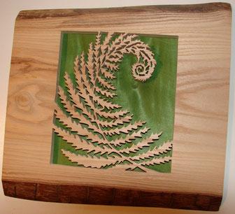Eclosion - Fougère - Atelier Eclats de bois