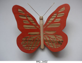 Papillon PPD_1602 - Ailes marquetées sur les 2 faces