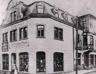 1911 Ladengeschäft Alte Staatsstrasse in Oelsnitz/E.