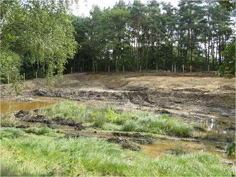 Der Geopunkt Jurameer Schandelah am 22.08.2014