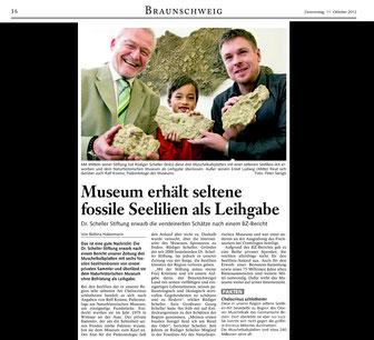 Braunschweiger Zeitung vom 11.10.2012